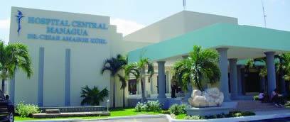 Hospital Central Managua Del Hospital Central César